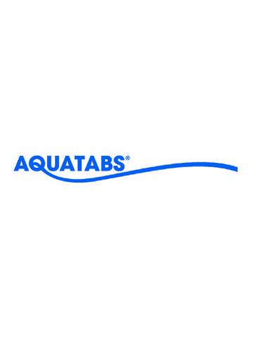 AQUATABS - SOVEDIS